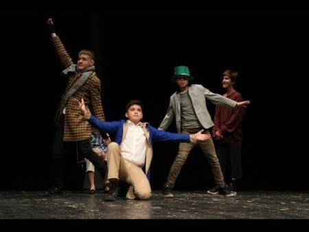 Embedded thumbnail for «Oliver Twist» performed on Dzhegarkhanan Theatre stage